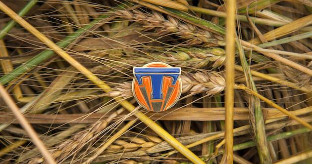 Tomorrowland pin/ Ph: Kimberley French. ©Disney 2015
