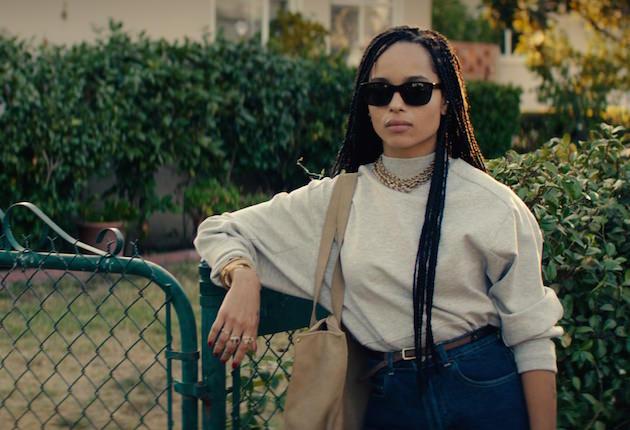 Nakia (Zoe Kravitz). Courtesy Open Road Films.