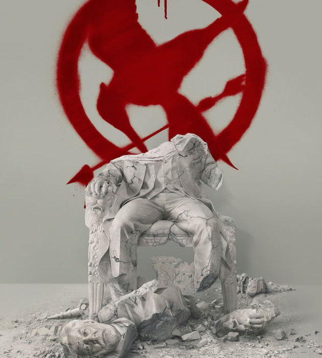 Down with the Capitol Poster. Courtesy Lionsgate.