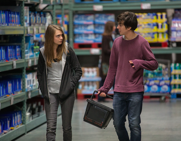 Margo (Cara Delevigne) and Quentin (Nat Wolff). Photo by Michael Tackett. Courtesy 20th Century Fox.