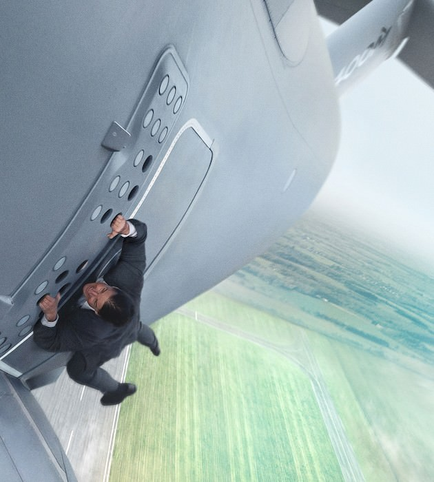 At 53, Cruise is hardly slowing down. Courtesy Paramount Pictures and Skydance Productions