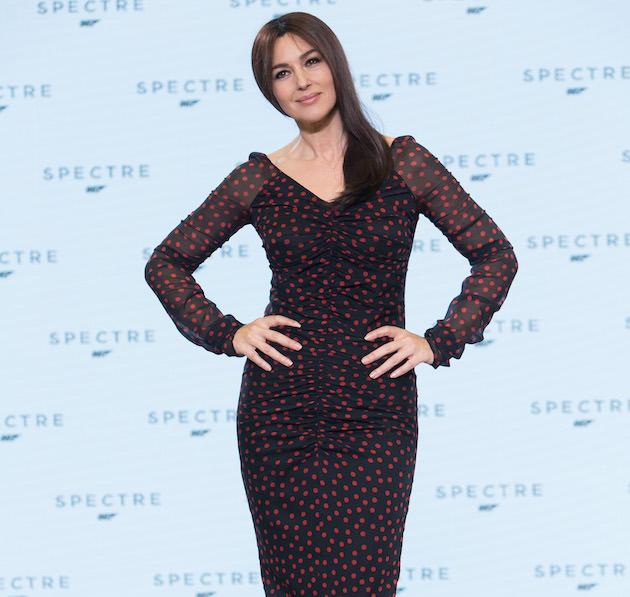 Monica Bellucci is Lucia Sciarra. Courtesy Columbia Pictures.