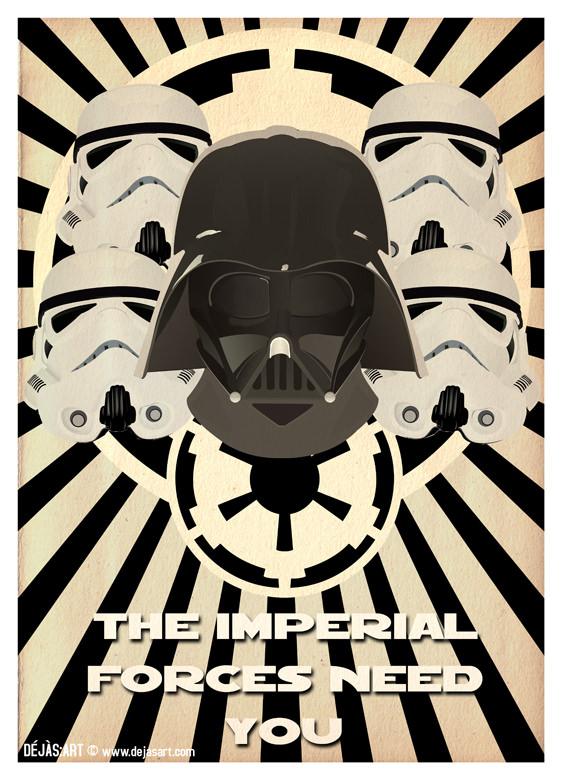 Star Wars Propaganda Poster 1. By Dejas.