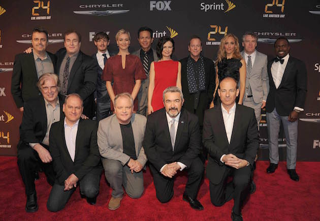 The cast and crew of '24: Live Another Day.' Courtesy Fox