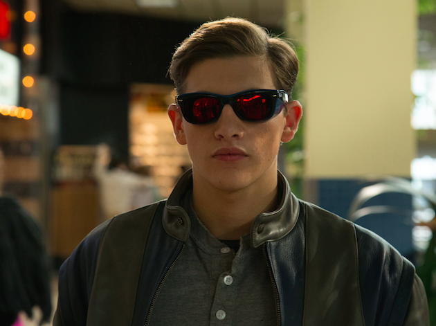 Tye Sheridan is Scott Summers/Cyclops. Photo Alan Markfield. Courtesy 20th Century Fox