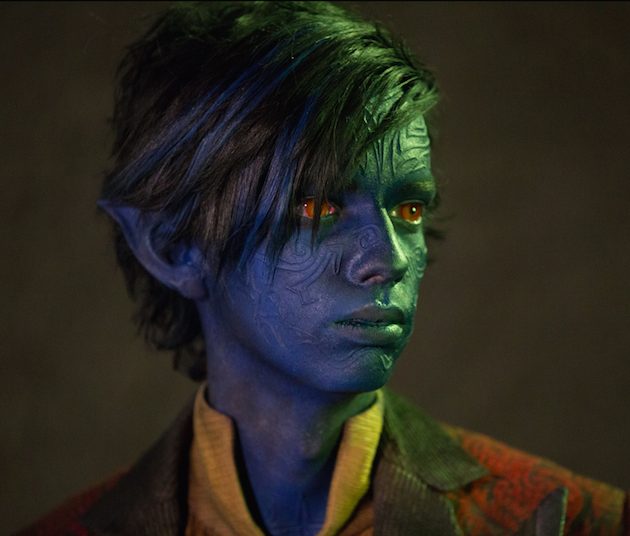 Kodia Smit-McPheen as Kurt Wagner/Nightcrawler. Photo by Alan Markfield. Courtesy 20th Century Fox