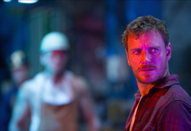 Michael Fassbender as Erik Lensherr/Magneto. Photo by Alan Markfield. Courtesy 20th Century Fox.