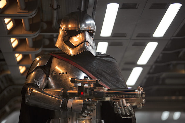Star Wars: The Force Awakens Captain Phasma (Gwendoline Christie) Ph: David James ©Lucasfilm 2015