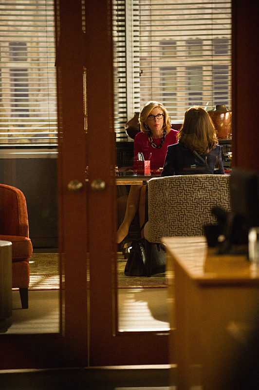 Pictured Christine Baranski as Diane Lockhart  Photo: Jeff Neira. ©2014 CBS Broadcasting, Inc. All Rights Reserved