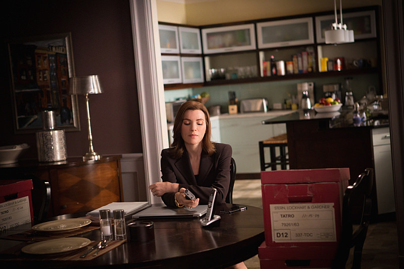 """Don't Fail"" - When a former client  calls Alicia (Julianna Margulies) after being charged with murder tied to a case from 2009, Alicia reviews the old case, prompting memories of her early days as a lawyer, on THE GOOD WIFE, Sunday, May 3 (9:00-10:00 PM, ET/PT), on the CBS Television Network. Photo Paul Sarkis/CBS © 2015 CBS BROADCASTING INC. ALL RIGHTS RESERVED."