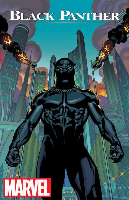 """The Black Panther"" cover by Brian Stelfreeze"