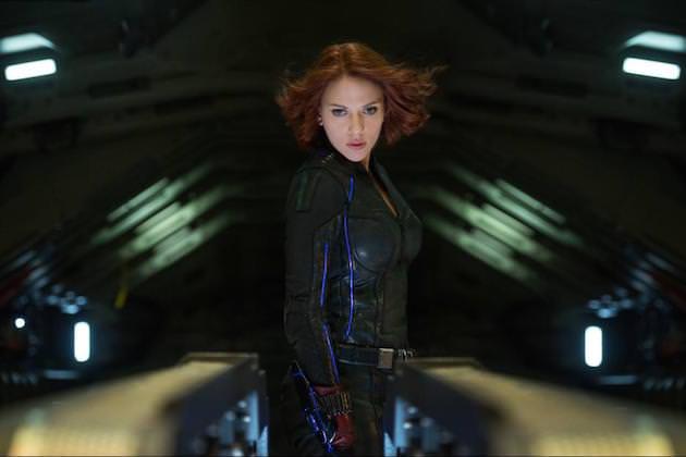 Scarlett Johansson is the Black Widow. Courtesy Walt Disney Pictures/Marvel Entertainment