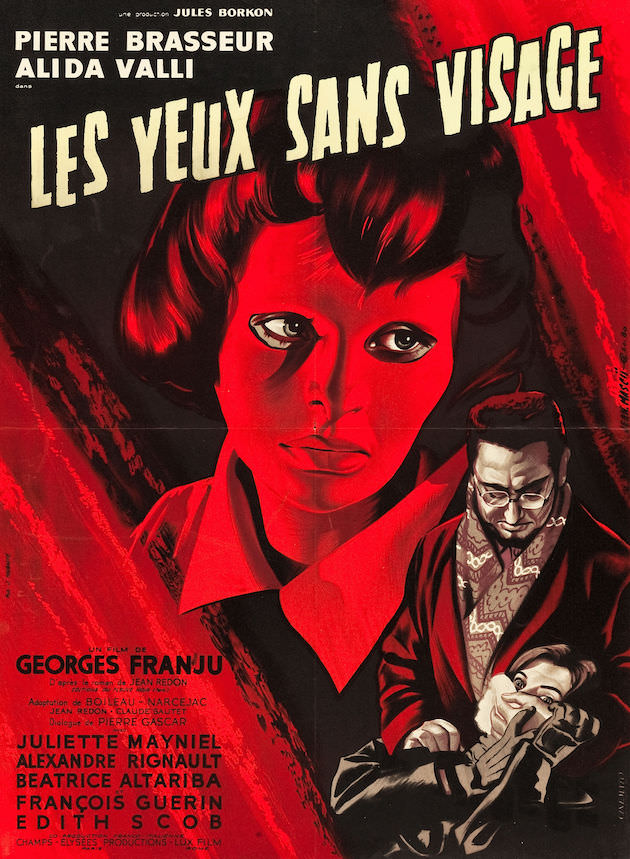 Eyes Without A Face theatrical poster