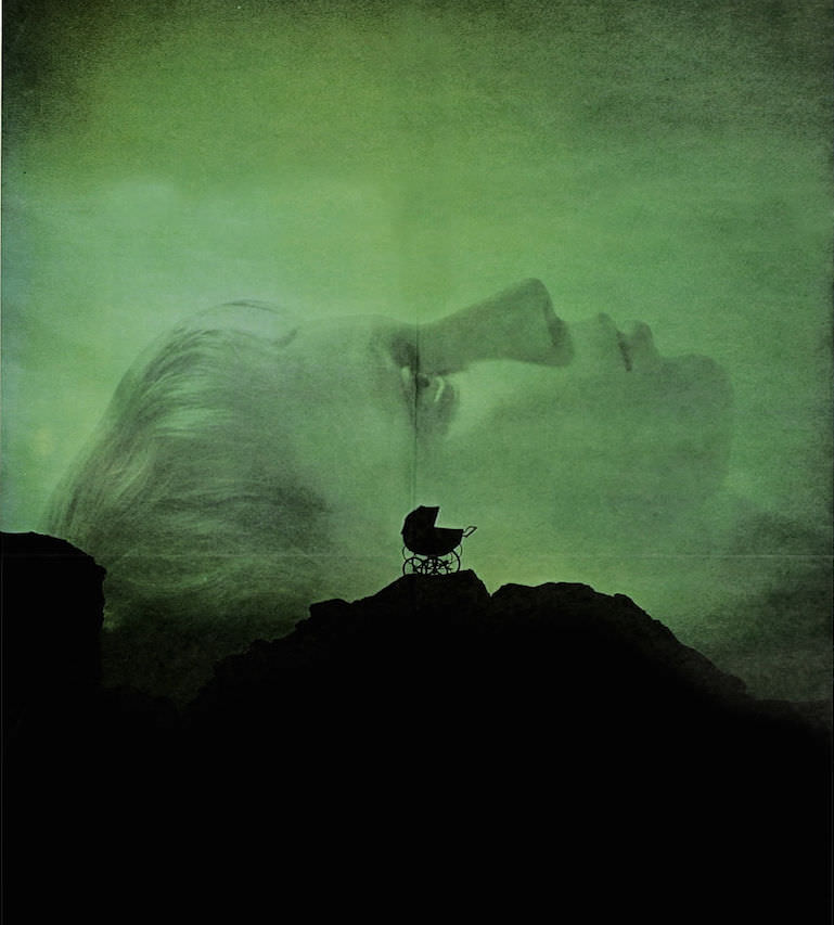 Rosemary's Baby theatrical poster.