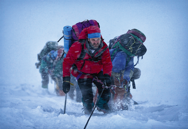 Jason Clarke as Rob Hall in 'Everest.' Photo Credit: Jasin Boland. Courtesy Universal Pictures.