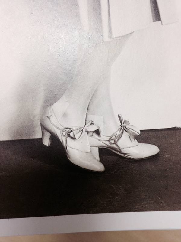 Some beautiful heels. Courtesy Anna Robbins