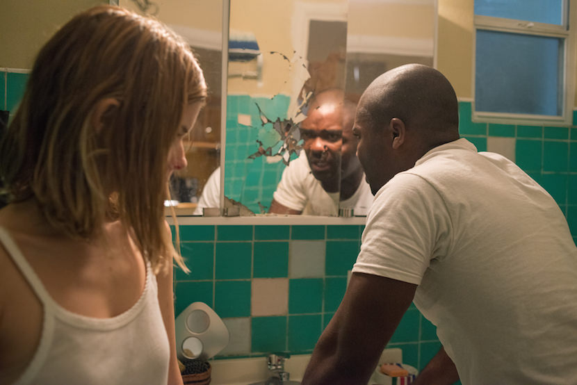 Kate Mara plays Ashley Smith and David Oyelowo plays Brian Nichols in Captive from Paramount Pictures