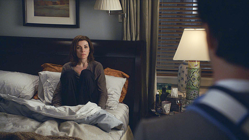 Pictured: Julianna Margulies as Alicia Florrick Photo: CBS. ©2014 CBS Broadcasting, Inc. All Rights Reserved