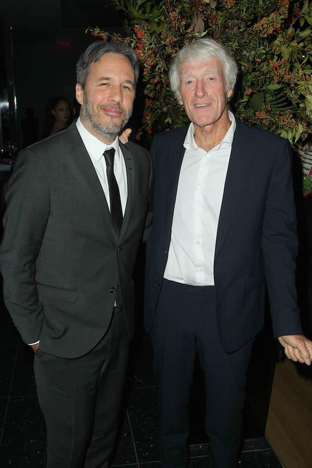 Denis Villeneuve and Roger Deakins at NYC Special Screening Sept 15h. photo credit: Facebook/Sicario/Lionsgate