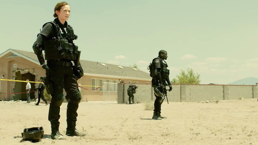 Emily Blunt as Kate Mercer in SICARIO. Courtesy Lionsgate