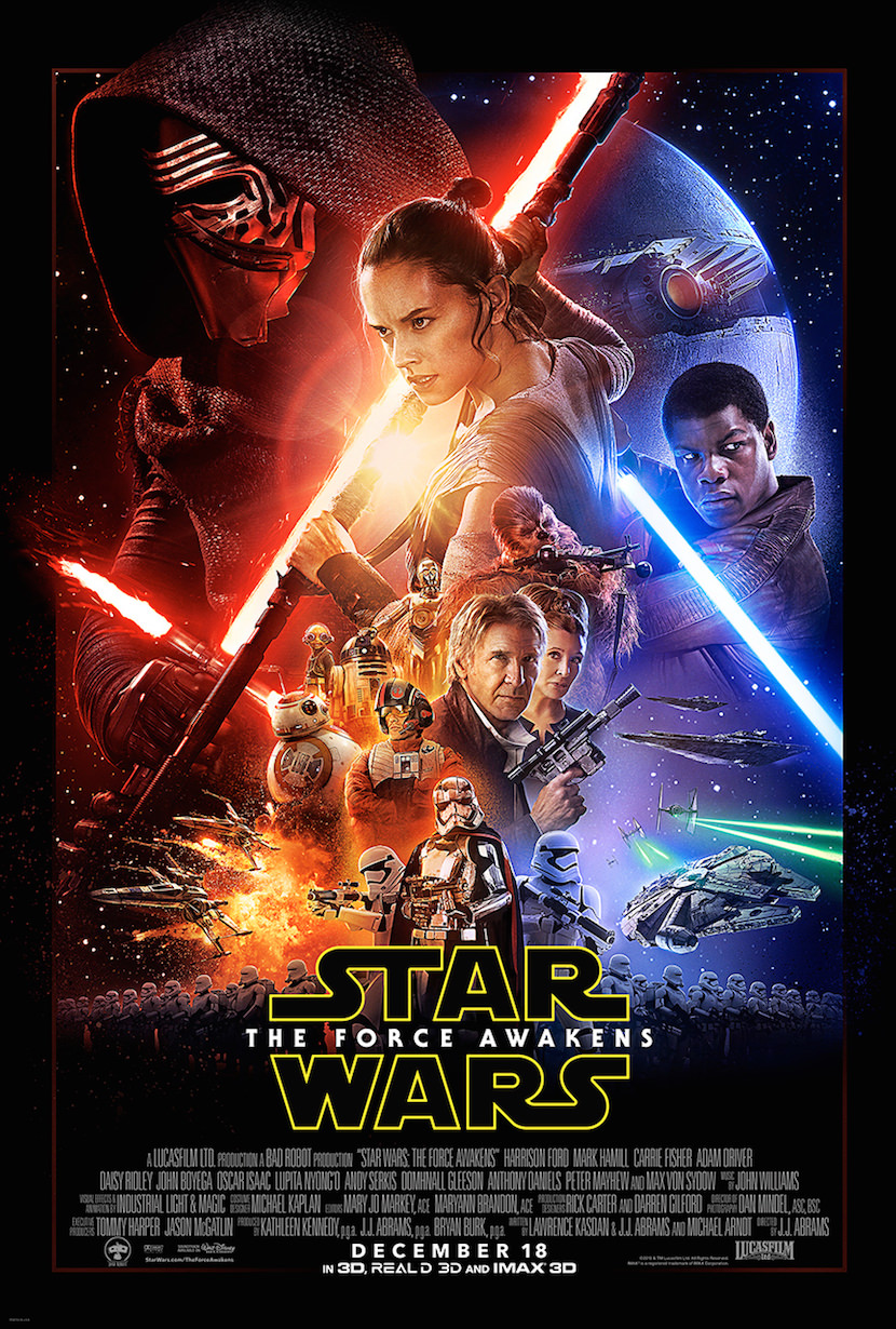 The new poster. Courtesy Walt Disney Pictures/Lucasfilm