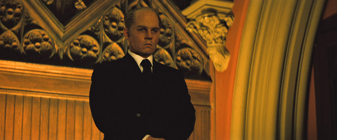 Johnny Depp's latest transformation is into Whitey Bulger for 'Black Mass.' Courtesy Warner Bros. Pictures