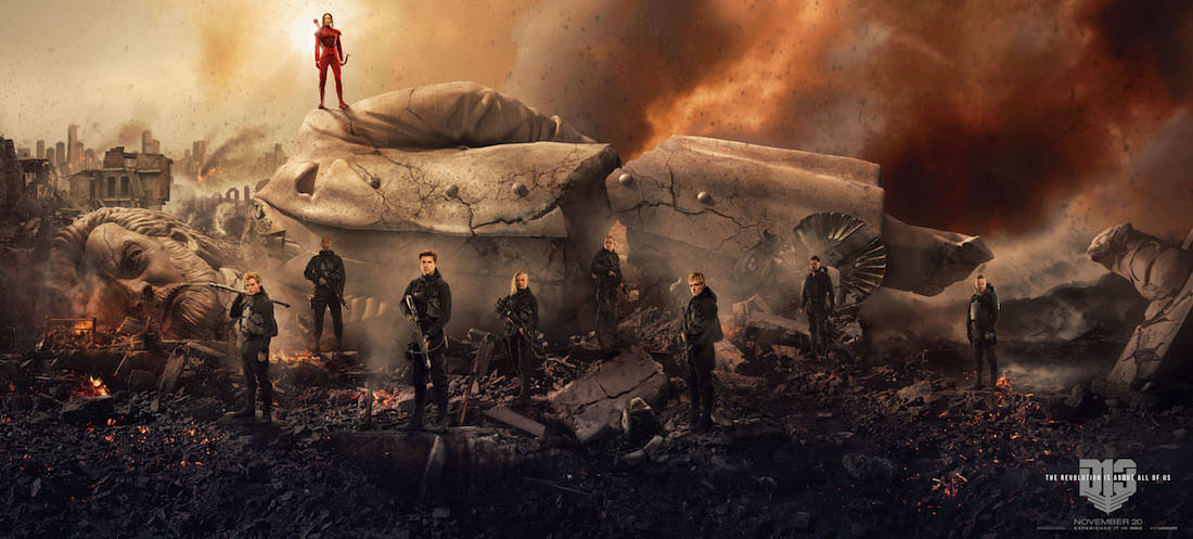 Fallen Snow Banner. Courtesy Lionsgate Films