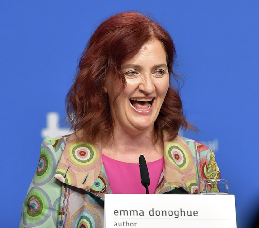 "TORONTO, ON - SEPTEMBER 14:  Writer Emma Donoghue speaks onstage during the ""Room"" press conference at the 2015 Toronto International Film Festival at TIFF Bell Lightbox on September 14, 2015 in Toronto, Canada.  (Photo by Mike Windle/Getty Images)"