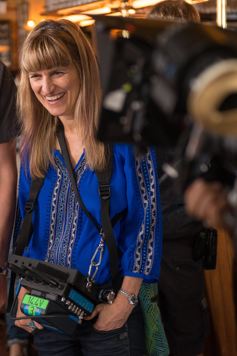 Catherine Hardwicke on the set of MISS YOU ALREADY  Photo credit: Nick Wall