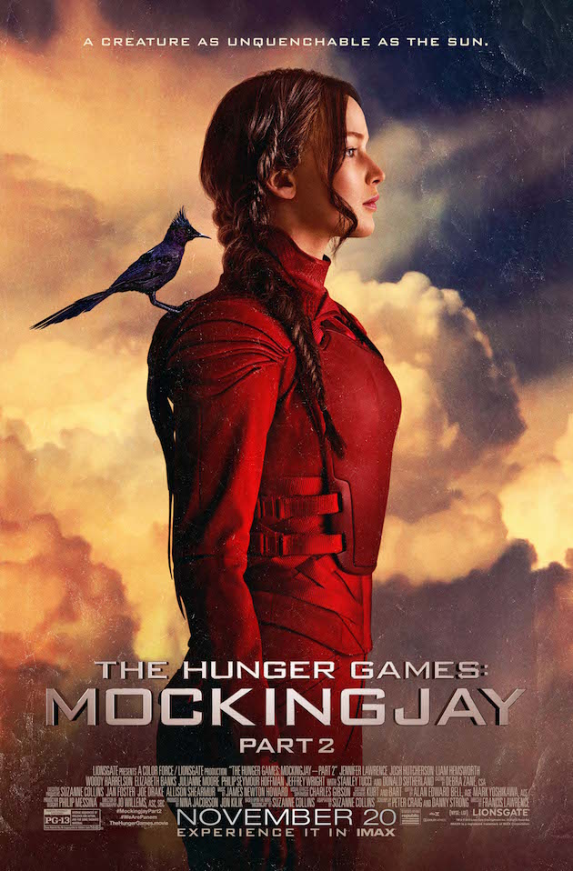 The Mockingjay Poster. Courtesy Lionsgate