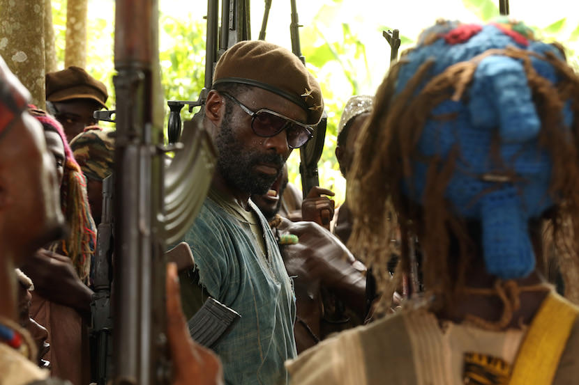 "dris Elba in the Netflix Original Film ""Beasts of No Nation"" Photo Courtesy Netflix"