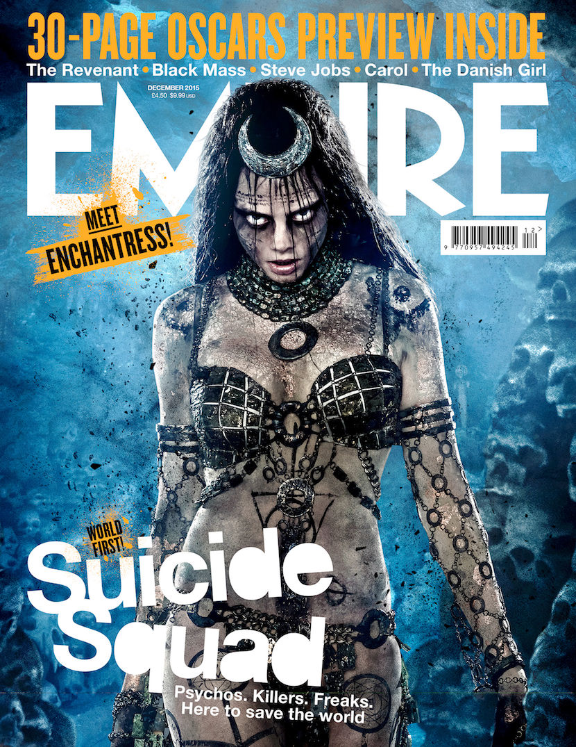 Empire Magazine's Enchantress cover. Courtesy Empire.