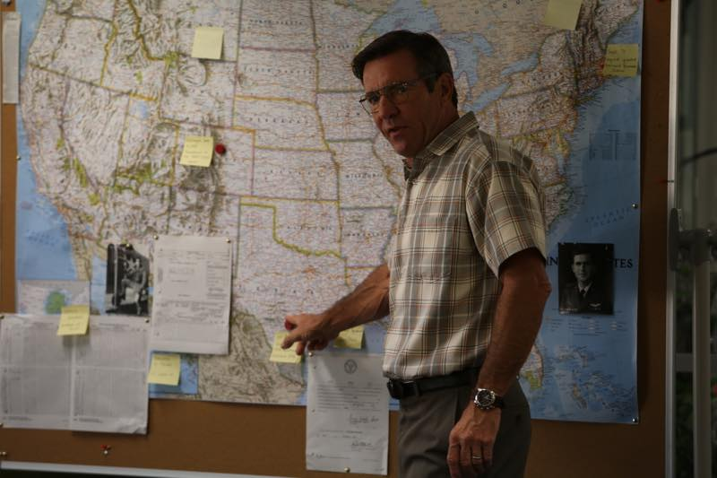 Dennis Quaid as Lt. Colonel Roger Charles Photo by Matt Hart © 2015 RatPac Truth LLC., Courtesy of Sony Pictures Classics
