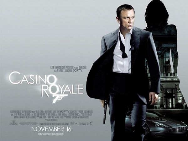 'Casino Royale' theatrical poster. Eon Productions, Designed by Empire Design
