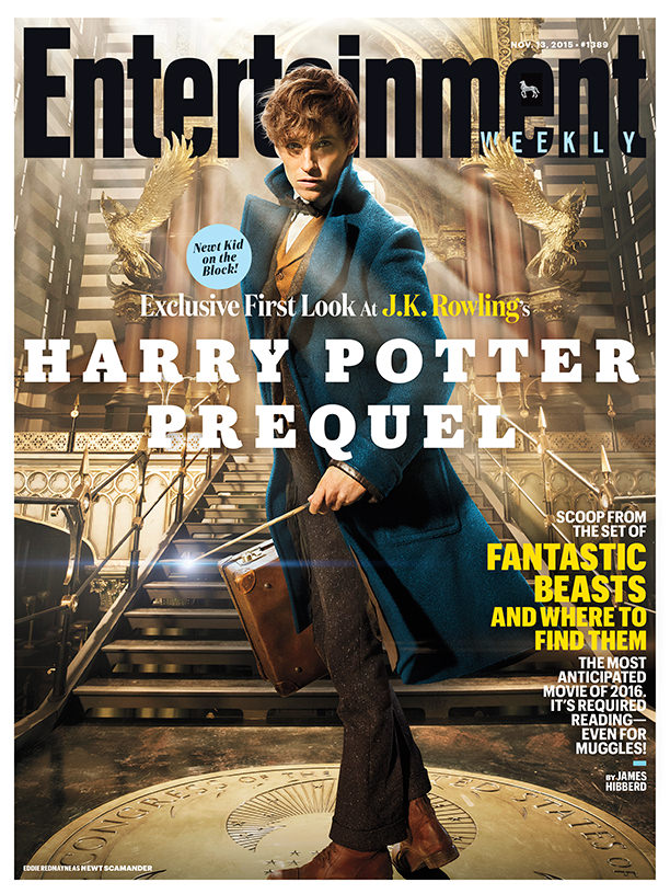 Entertainment Weekly's Fantastic Beasts cover.