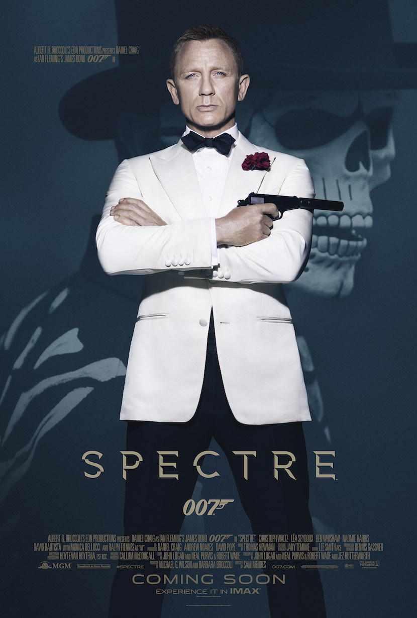 'Spectre' theatrical poster. Courtesy Sony Pictures.