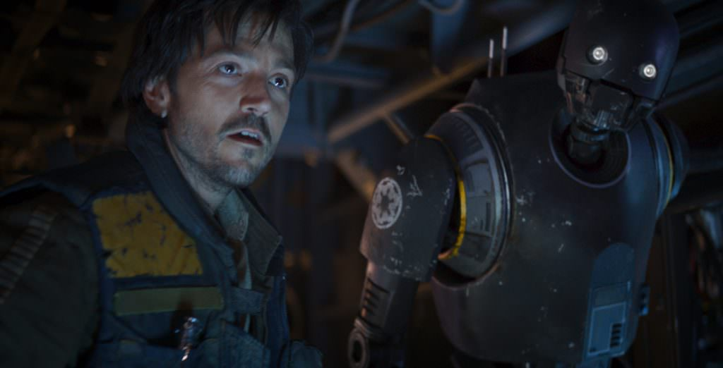 Diego Luna in Rogue One. Courtesy: Walt Disney Studios