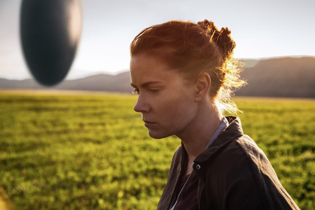 Amy Adams in Arrival. Courtesy Paramount Pictures.