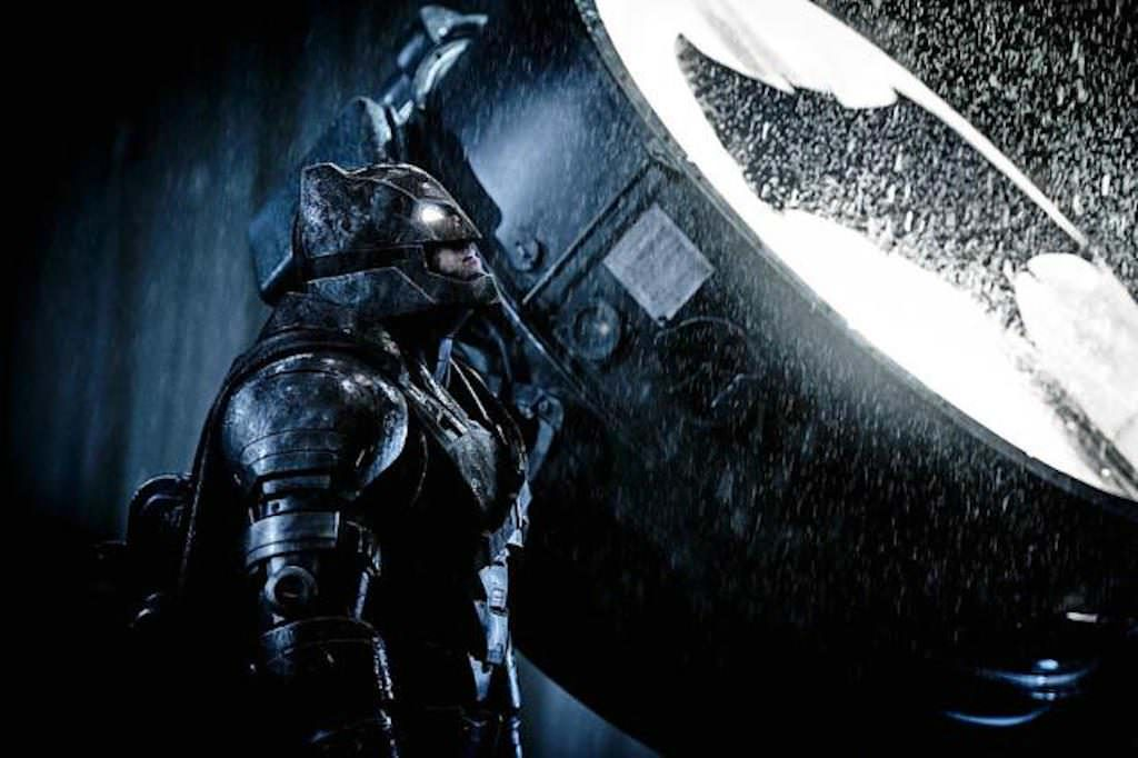 Ben Affleck is 'Batman' in 'Batman v. Superman: Dawn of Justice.' Courtesy Warner Bros.