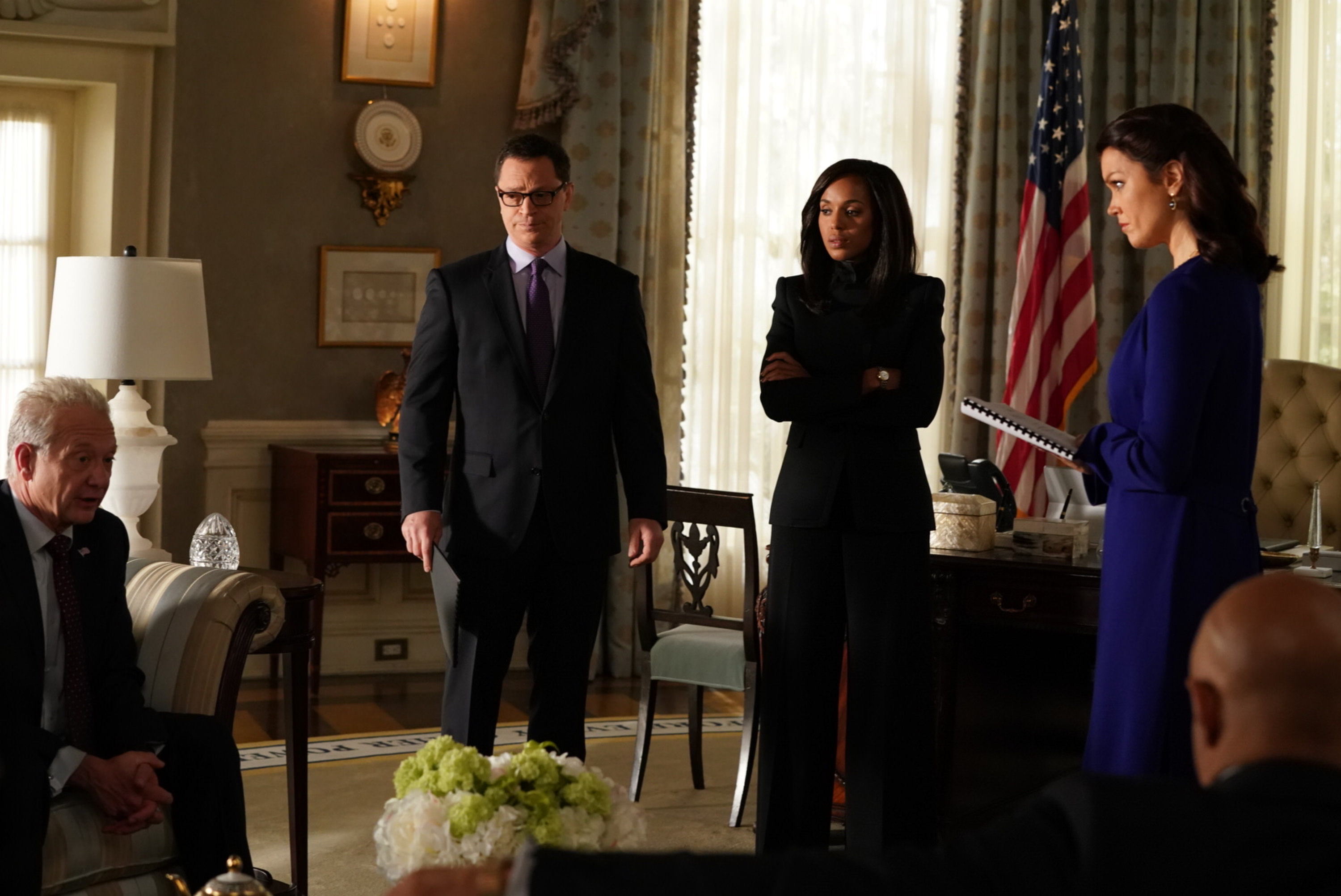 4a542ad2bbaa SCANDAL – ÒAdventures in BabysittingÓ – Olivia and Mellie assert their  power like never before; meanwhile, Cyrus is working on congressional  approval to ...