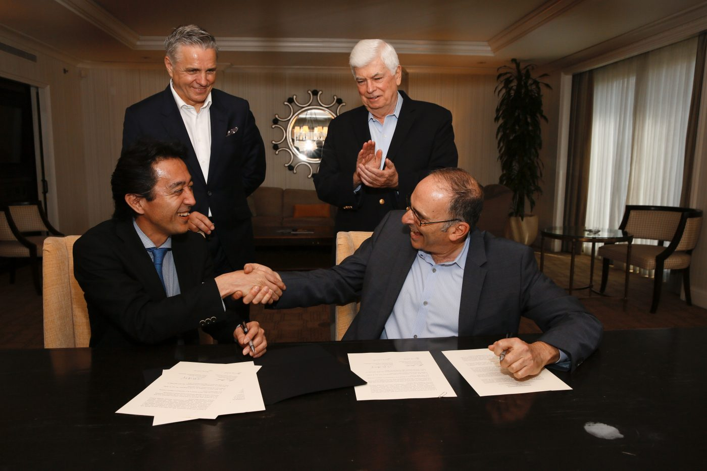 MPAA Document Signing at CinemaCon 2016