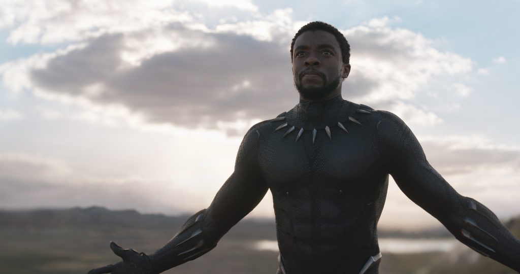 He's the king in more ways than one. Marvel Studios' BLACK PANTHER. Black Panther/T'Challa (Chadwick Boseman). Ph: Film Frame. ©Marvel Studios 2018