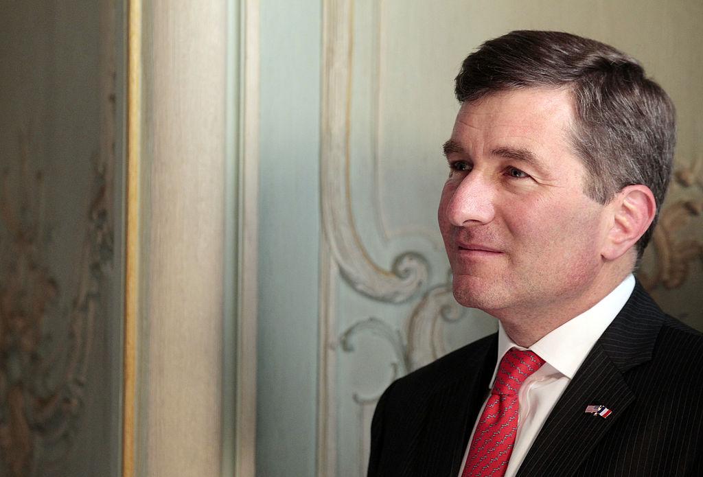 US Ambassador to France, Charles H. Rivk