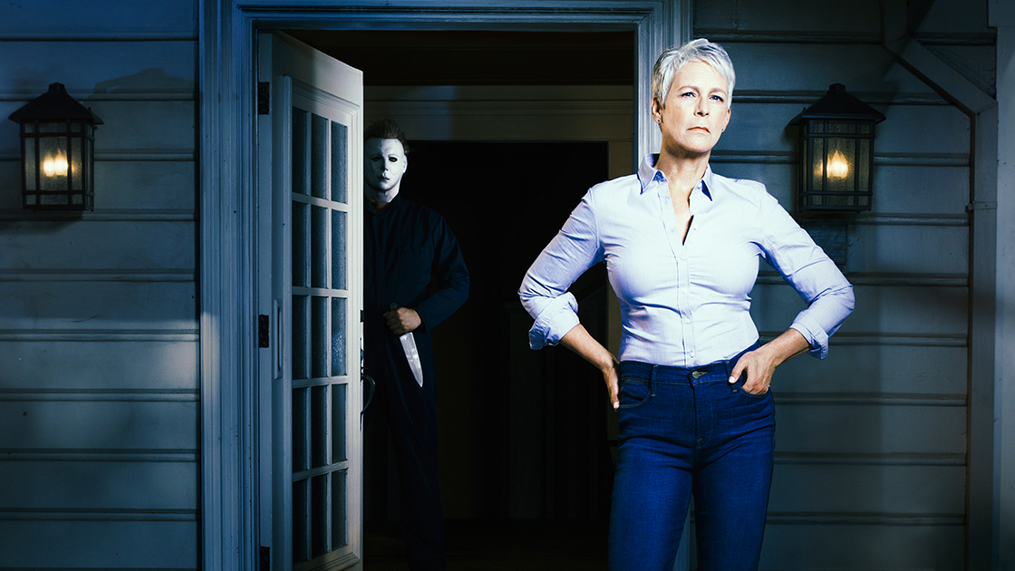 Halloween 2018 Michael Myers Face.Laurie Gets Her Wish To Face Michael Myers Again In Halloween