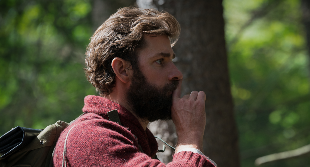 John Krasinski plays Lee Abbott in A QUIET PLACE, from Paramount Pictures. © 2018 Paramount Pictures. All rights reserved. Photo Credit: Jonny Cournoyer