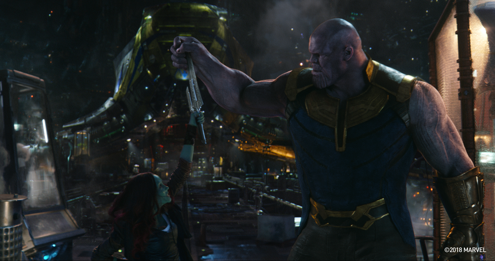 New Infinity War Deleted Scene Dives Deeper Into Thanos Gamoras History