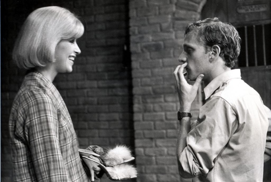 Howard Ashman and Ellen Greene