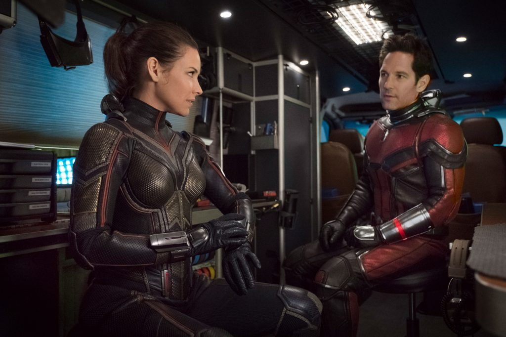 Evangeline Lilly and Paul Rudd in Ant-Man and the Wasp. Courtesy: Walt Disney Studios