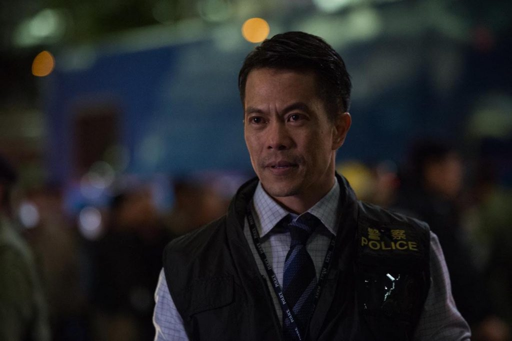 Byron Mann in 'Skyscraper.' Courtesy Universal Pictures.