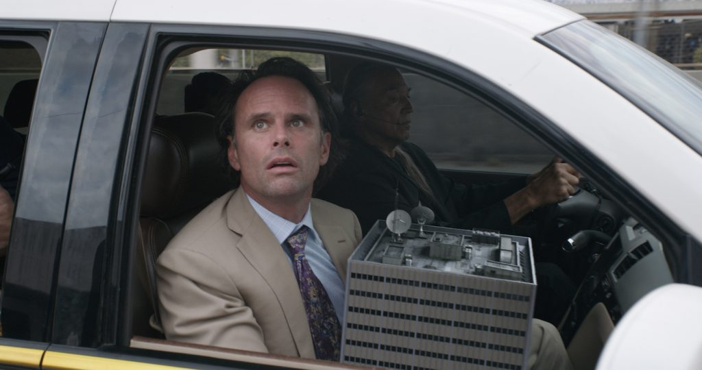Marvel Studios ANT-MAN AND THE WASP. Sonny Burch (Walton Goggins). Photo: Film Frame. ©Marvel Studios 2018